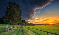 Sonnenuntergang bei Ellringen von photoart-hartmann