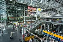 Berlin Hauptbahnhof  von Rob Hawkins