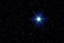 Stern Wega - Alpha Lyrae - Vega star von monarch