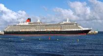 Luxusliner Queen Victoria im Hafen von Sta.Cruz de La Palma by monarch