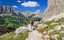 Dolomiti - hiking in Badia Valley von Antonio Scarpi
