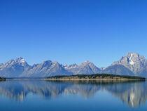 Blue mountains von Rahel Herden
