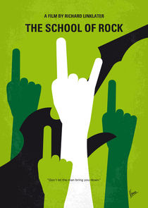 No668-my-the-school-of-rock-minimal-movie-poster