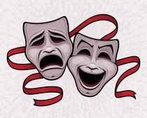 Comedy-tragedy-masks-print