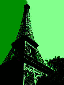 Paris in Green von Nate Jekich