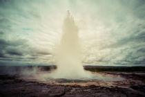 Geysir Strokkur by Doreen Reichmann