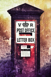 Victorian Pillar Box by Graham Prentice