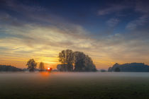Nebel über den Feldern by Kai Hormann