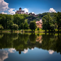 Trencin Castle by Zoltan Duray