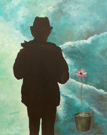 Schattenschweben - Arnold Beck von Fine Art Nielsen