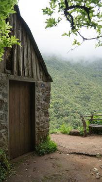 Die Hütte in den Bergen by Stephan Gehrlein
