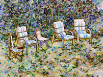 Secret Garden Chair by lanjee chee