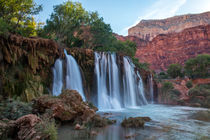Upper Navajo Falls, Supai, Grand Canyon, Arizona, USA by geoland