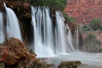 Upper Navajo Falls, Supai, Grand Canyon Gebiet, Arizona, USA by geoland
