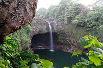 Rainbow Falls, Hilo, Big Island of Hawai'i by geoland