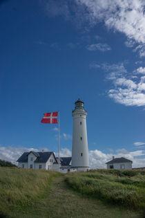 Leuchtturm in Dänemark by Rahel Herden
