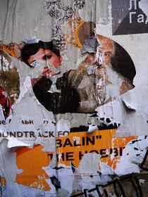 Russian poster wall / No. 7 von rgbilder