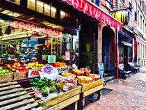 Boston MA - Fruit Stand von Susan Savad