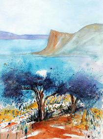Olivenbäume  by Inez Eckenbach-Henning