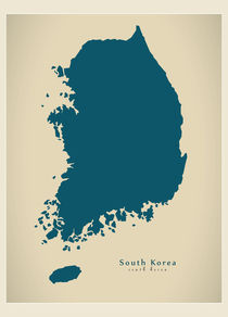 Modern-map-kr-south-korea