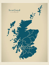 Modern-map-uk-scotland-with-regions