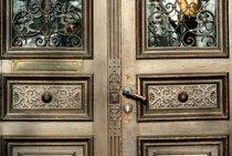 Alte Türe 1 von Peter Hebgen