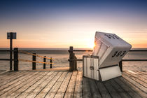 Sunset at the Beach von Patrick Klatt