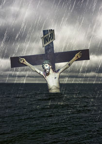Jesus-on-the-cross-at-the-sea