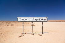 Namibia Tropic of Capricorn, Highway C14, near Goab Pass von kytefoto