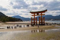 Torii Gate Miyajima von tfotodesign