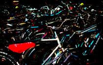Fahrräder am Hauptbahnhof. Assemblage by Hartmut Binder