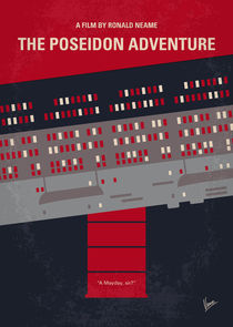 No679 My The Poseidon Adventure minimal movie poster by chungkong
