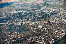 Aerial View Of Bucharest City In Romania von Radu Bercan