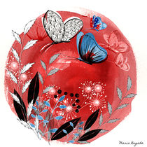 Magical Butterfly von Maria Bogade