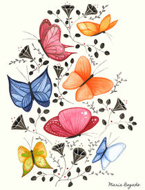 Butterflies by Maria Bogade
