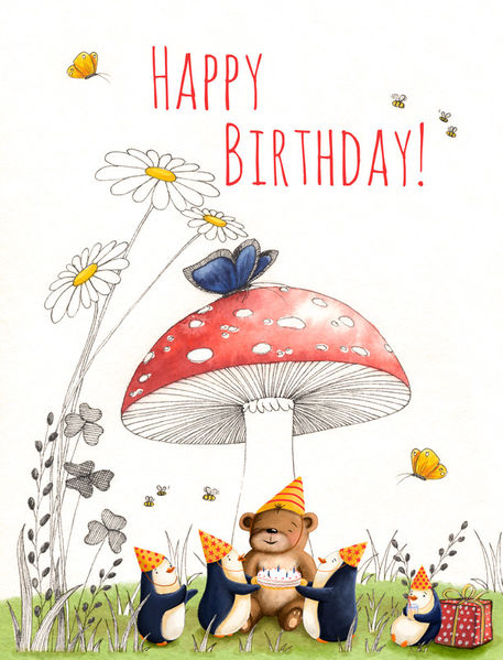 Bogade-bear-penuins-bday-card