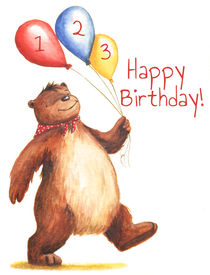 Birthday Bear 2