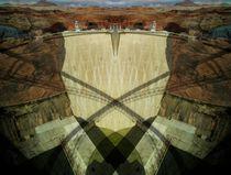 Bridge over dam by Claudio Boczon