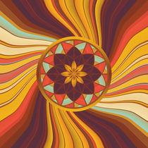 Floral vortex by Gaspar Avila