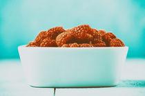 Bowl Of Fresh Raspberries by Radu Bercan