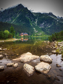 Popradske pleso by Zoltan Duray