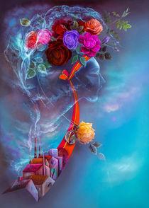Noch blühen sie, die Rosen ... by Annelie Dachsel-Widmann