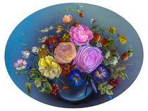 Ein kleiner Blumengruss by Annelie Dachsel-Widmann