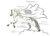 "Pony-Power ""Superman"" von cavallo-magazin"