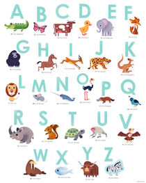 Animal Alphabet by Benjamin Bay