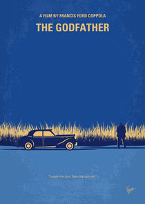 No686-1 My Godfather I minimal movie poster von chungkong