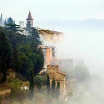 Fog in Tuscany by Gianni Brunacci