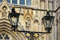 Detail am York Minster by gscheffbuch