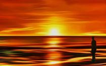 Gormley at Sunset by John Wain