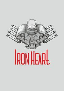 Iron Heart W by Anisenkov Alexander